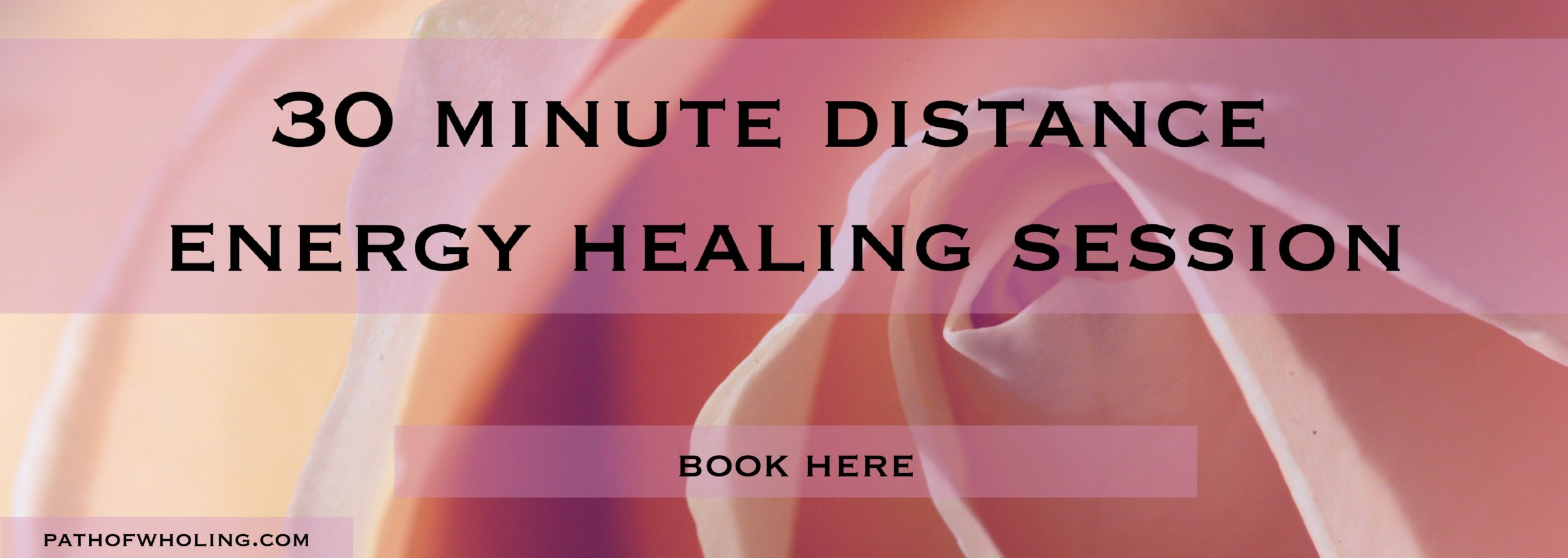 30 minute healing session